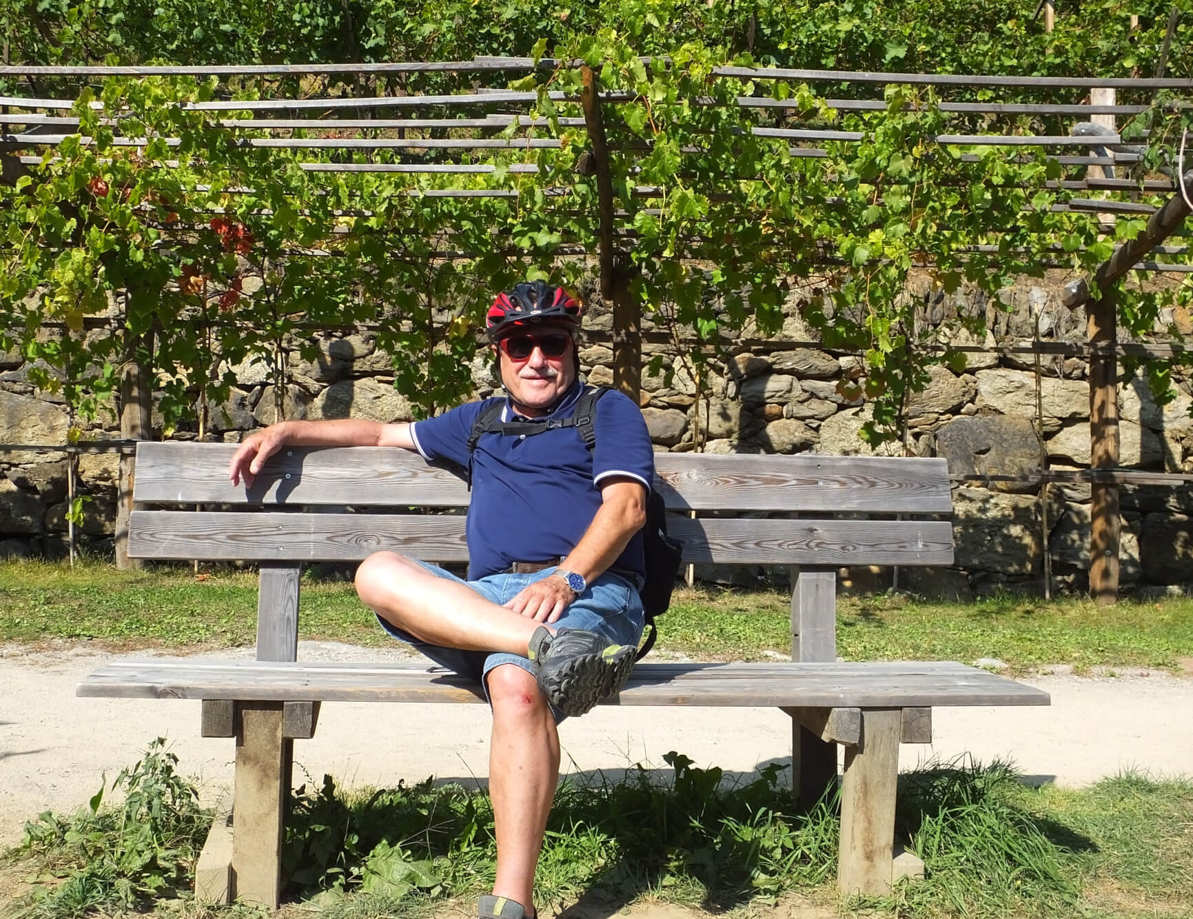 Gerd Fahrradtour