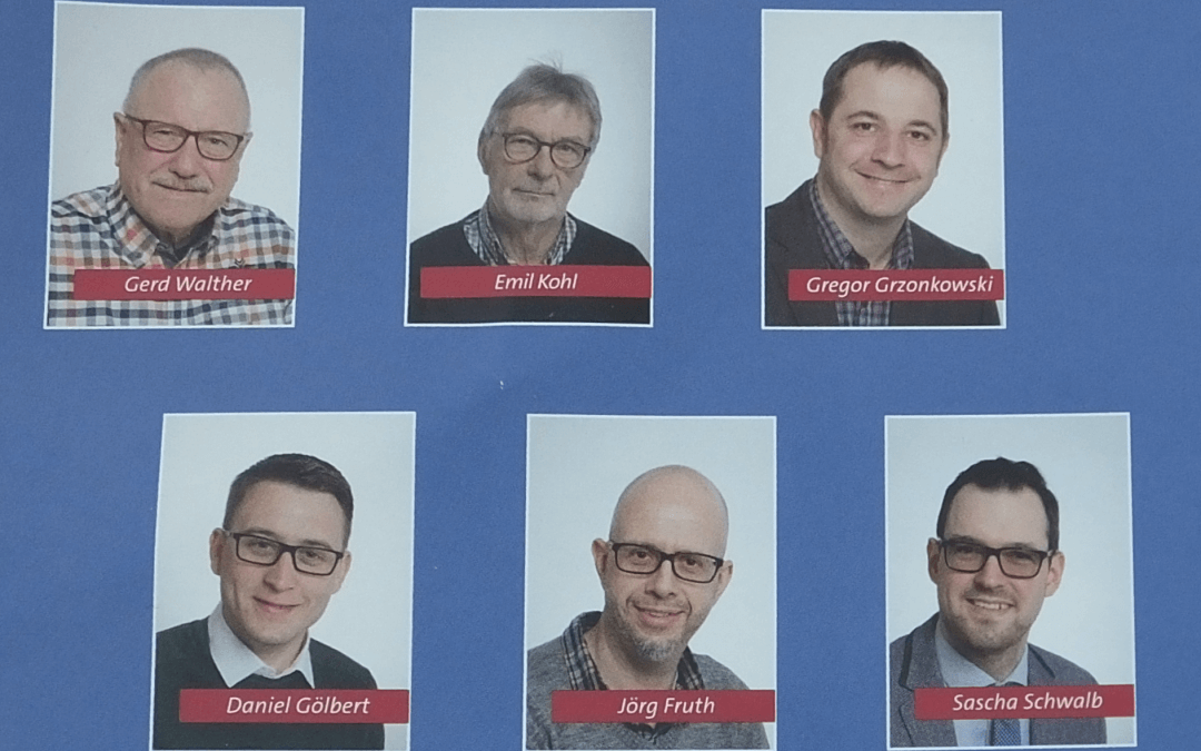 SPD Kandidaten für den Ortsbeirat