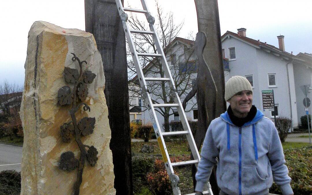 Der Sausenheimer Kreisel – ein symbolträchtiges Kunstwerk